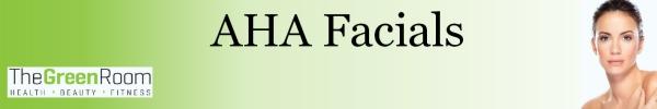 AHA Facials banner